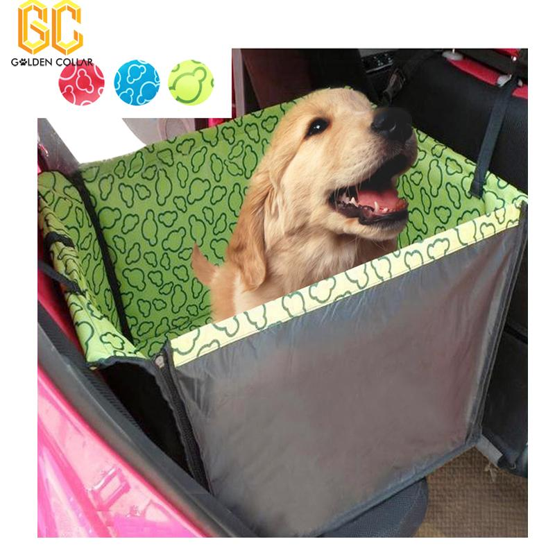 Red-Blue-Green-Washable-Double-Layer-Waterproof-Pet-Dog-Cat-Safe-Safety-Travel-Hammock-Car-Bed