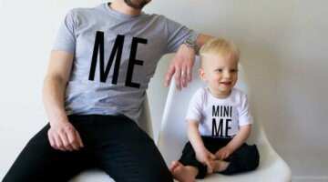 summer-2016-family-matching-outfits-letter-me-mini-me-father-and-son-clothes-cotton-family-look
