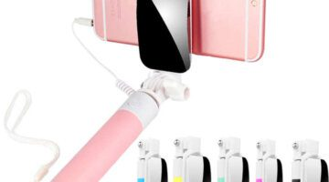 Handheld-Extendable-Selfie-Stick-Monopod-Tripod-for-Phone-Wired-Selfy-Stick-with-Mirror-for-Huawei-P8