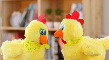 1pcs-30cm-funny-Doll-raw-chicken-hens-will-lay-eggs-of-chickens-crazy-singing-and-dancing