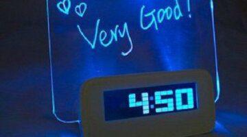 2015-Hot-Sale-LED-Fluorescent-Message-Board-Digital-Alarm-Clock-Calendar-Night-Light-Modem-LED-Alarm