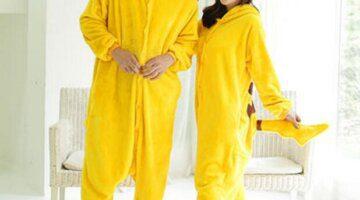 Pokemon-Pikachu-Cosplay-Animal-Hoodie-Sleepwear-Pajamas-Adult-Yellow-Unisex-Pikachu-Onesie-Cosplay-Costume-Pikachu-Pajamas