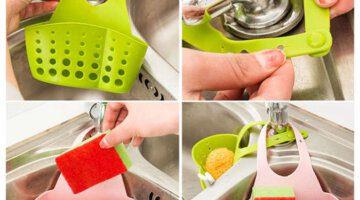cute-kawaii-kitchen-portable-hanging-drain-bag-drain-shelf-basket-bath-storage-gadget-tools-sink-holder