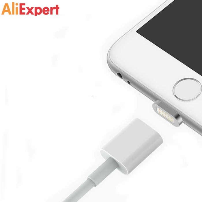 МАГНИТНЫЙ LIGHTNING КАБЕЛЬ НА АЛИЭКСПРЕСС прикольные, интересные, крутые, полезные, лучшие товары, для мобильного, телефона, смартфона, электроника