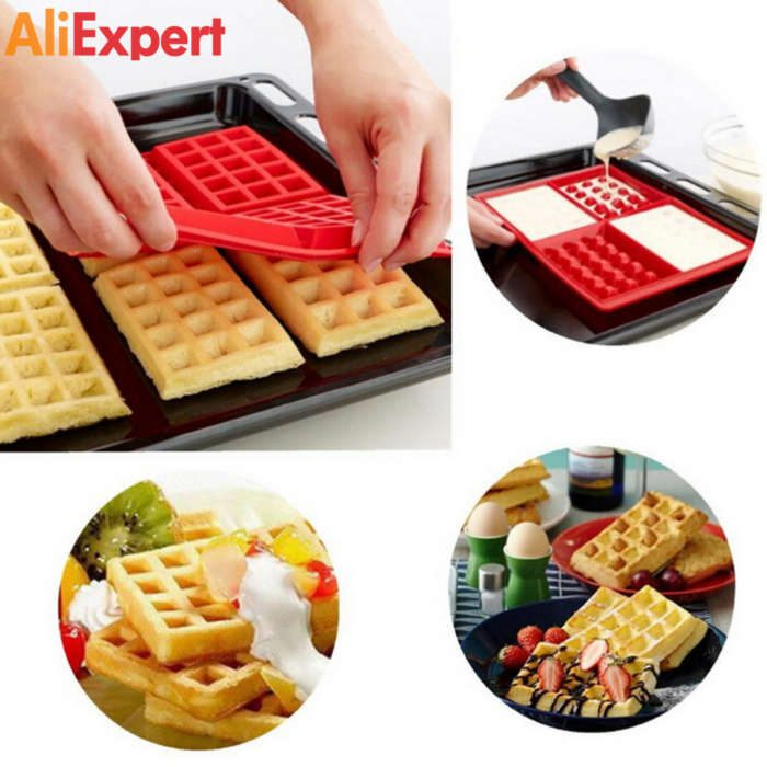 1-x-safety-4-cavity-waffles-cake-chocolate-pan-silicone-mold-baking-mould-cooking-tools-kitchen