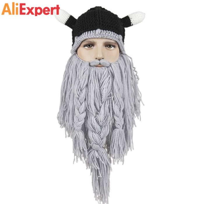 men-s-head-barbarian-vagabond-viking-beard-beanie-horn-hat-winter-warm-balaclava-beanies-cosplay-knit