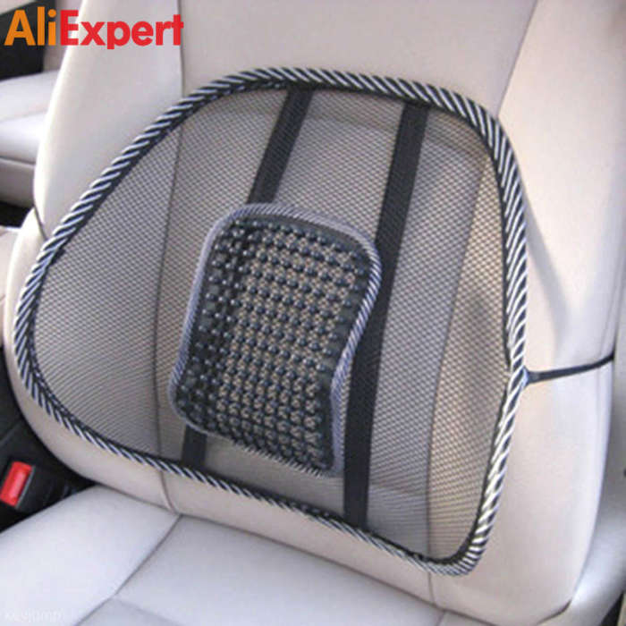 mesh-lumbar-back-brace-support-office-home-car-seat-chair-cushion-cool-high-quality