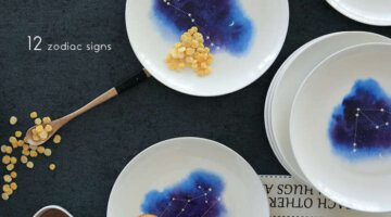 7-inch-twelve-constellation-series-plate-western-style-food-steak-cake-dishes-ceramic-plate
