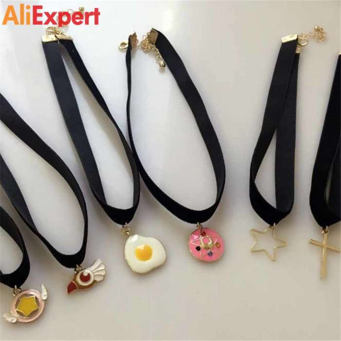 europe-and-the-united-states-jewelry-wholesale-japan-and-south-korea-series-black-velvet-strip-animation