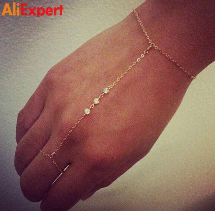 2016-women-delicate-crystal-bracelet-girls-gold-slave-bracelets-office-lady-fashion-jewelry-b95