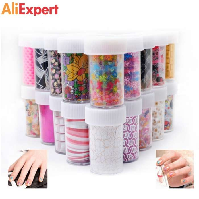 new-50designs-nail-art-transfer-foils-stickers-12pcs-lot-sexy-flowers-butterfly-nail-decals-nail-tips