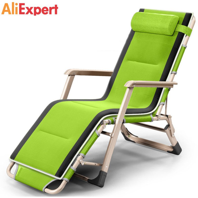 -Outdoor-or-indoor-adjustable-nap-recliner-chair-folding-deck-chair-Beach-chair-with-Steel-Pipe