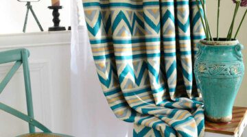 1-PC-Blue-Striped-Printed-Blackout-Curtains-for-Living-Room-Modern-Window-Curtains-for-the-Bedroom