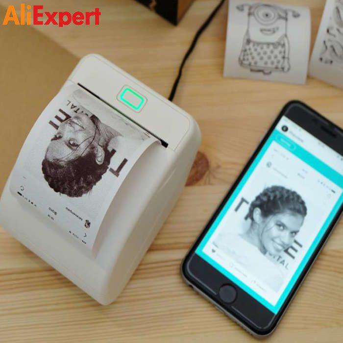 КАРМАННЫЙ ПРИНТЕР НА АЛИЭКСПРЕСС прикольные, интересные, крутые, полезные, лучшие товары, для мобильного, телефона, смартфона, электроника