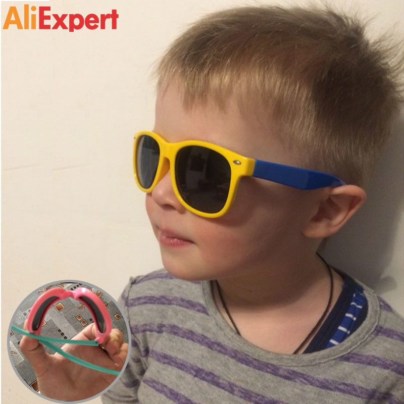 OUTSUN-New-Top-Quality-Kids-TAC-Polarized-Kids-Sunglasses-UV400-Boy-Girls-Cool-TR90-Rubber-Casual