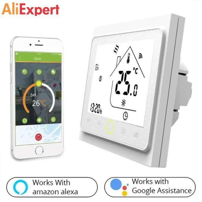wifi termostat умный дом google assistant alexa amazon Aliexpress 2019