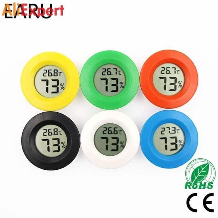 Мини цифровой гигрометр-термометр НА АЛИЭКСПРЕСС прикольные, интересные, крутые, полезные, лучшие , находки, покупки, гаджеты, аксессуары