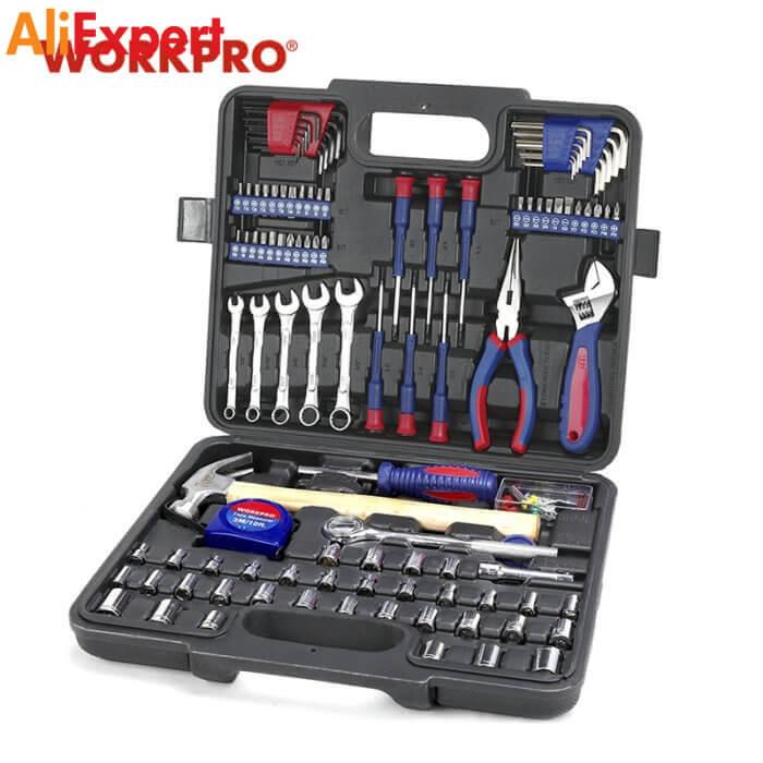 Набор инструментов WORKPRO НА АЛИЭКСПРЕСС прикольные, интересные, крутые, полезные, лучшие , находки, покупки, гаджеты, аксессуары