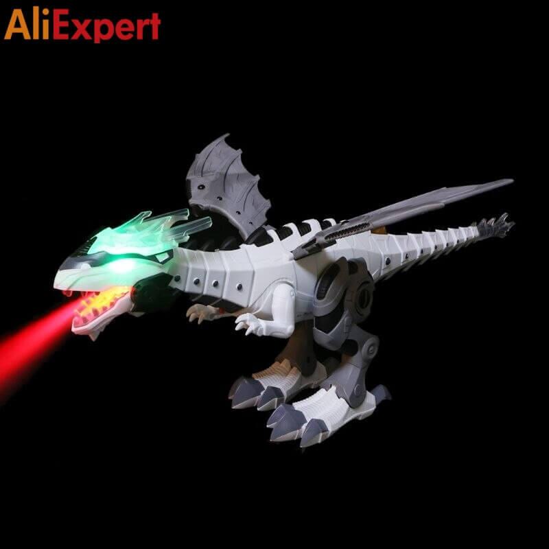 Интерактивный огнедышащий дракон