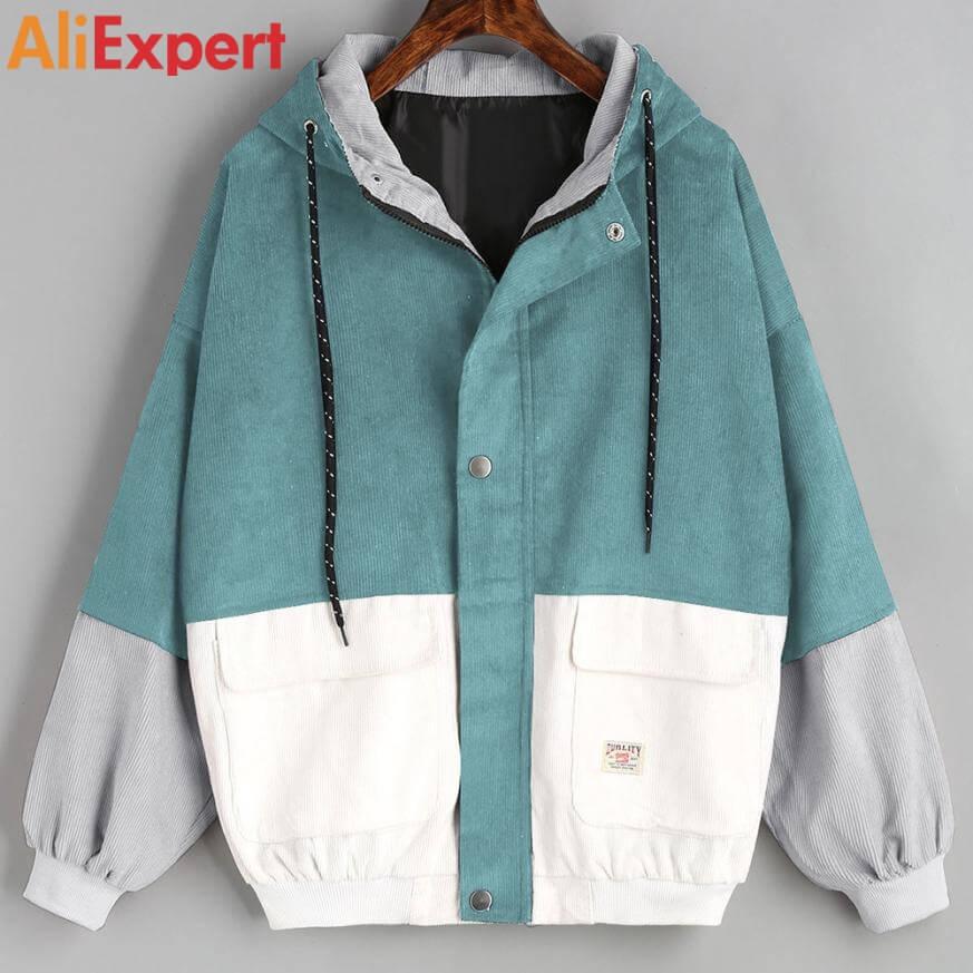 Стильная куртка-ветровка для женщин