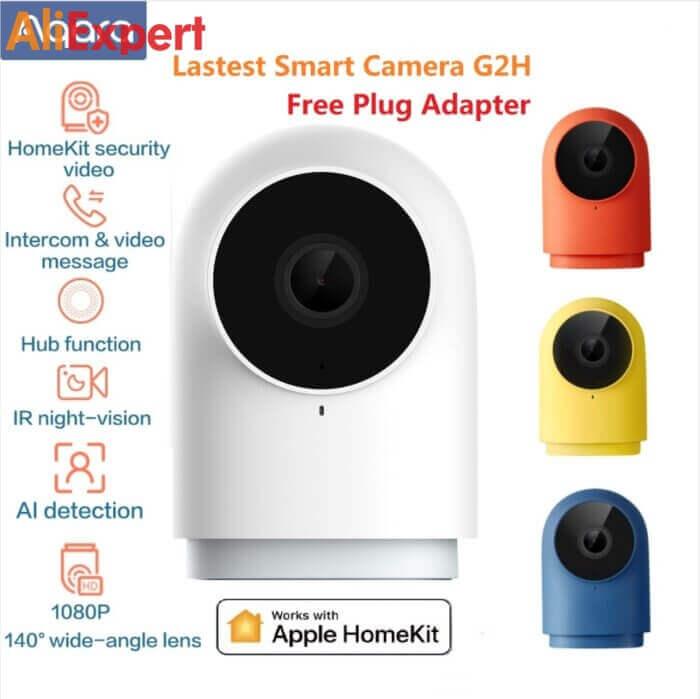Умная HD камера Aqara G2H НА АЛИЭКСПРЕСС прикольные, интересные, крутые, полезные, лучшие , находки, покупки, гаджеты, аксессуары